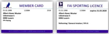 MemberCard_Sportlizenz